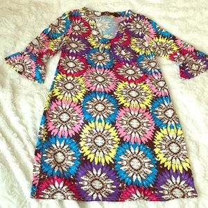 ABC Dresses - ABC Dress Flower Print Size: medium